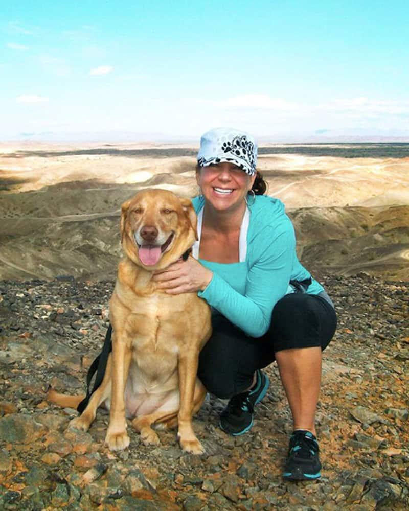 Katie and Tacia Hiking